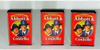 "VTG Abbott & Costello Golden Age Radio Cassette Tapes (3) 1987 ""Who's on First""?"