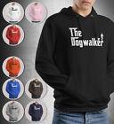The Dogwalker Hoodie Dog Walker Male Gift