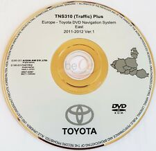 Toyota Lexus Navigation ORIGINAL DVD TNS310 2011-2012 Ost Europa East Europe