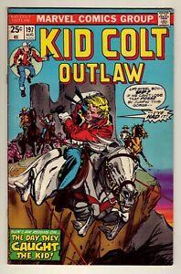 Kid Colt Outlaw #197 - August 1975 Marvel - Western stories - Fine (6.0)