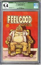 FEEL GOOD FUNNIES #1 1972 1ST PRINT VARIANT CGC 9.4(Q) NM  UNDERGROUND COMIX