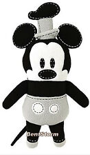 Disney Store Steamboat Willie Mickey Mouse Pook-a-Looz Stuffed Plush Doll Toy