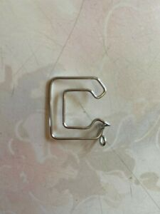 Letter C metal sign, plaque, decoration 3 cm by 3 cm in size