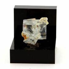 Fluorite. 32.6 ct. Langeac, Haute-Loire, France. Rare.
