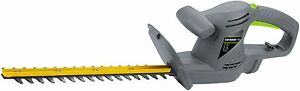 Earthwise HT10117 17-Inch 2.8-Amp Corded Electric Hedge Trimmer, Gray