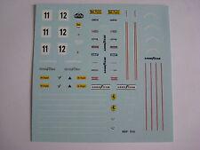F1 DECAL FERRARI 312 T2 F1 1977 CAMPIONE DEL MONDO FDS AUTOMODELLI