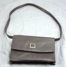 Kathy Lee Gifford Leather Messenger Style Handbag Purse Fashion Accessory