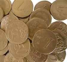 1,20 Kg = 240 Stück Hitschler Goldmünzen Goldtaler Kaubonbon Karneval Hochzeit