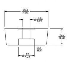 Piedini in gomma amplificatore (9112)