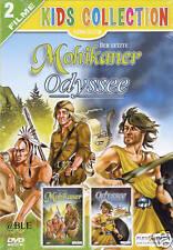 DVD + 2 Filme + DER LETZTE MOHIKANER + ODYSSEE + Abenteuer + Hawkeye + Schiff