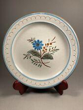 "Stangl BLUE DAISY Pottery Dessert Plate 6"""