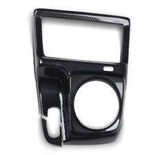 Carbon Fiber Style Manual Gear Shift Frame Cover Trim For Honda Civic 2006-2011