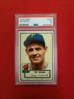 1952 Topps Baseball Ted Beard # 150 PSA 5 EX