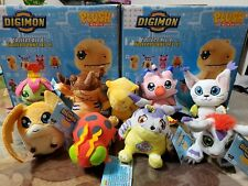 Digimon Mini Plushies Complete Set of 9 New Zag Toys