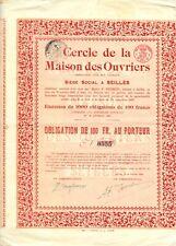 Obligation Seilles (1926)