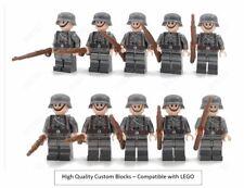 WW2 10 Minifigure - LEGO WW2 Soldiers Troops German Russian