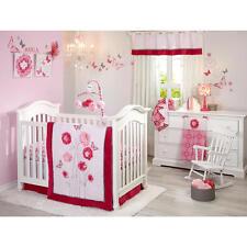 Butterfly Bouquet 4 Piece Crib Bedding Set by NoJo-Pink Newborn
