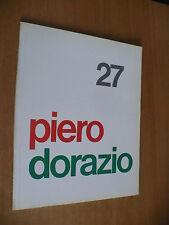 MARCO MENEGUZZO PIERO DORAZIO 27 LORENZELLI ARTE MILANO CATALOGO MOSTRA 1984