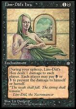 ▼▲▼ 2x Lim-Dûl's Hex (Maléfice selon Lim-Dûl) Ice Age  #146 ENGLISH Magic MTG