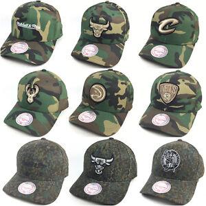 Mitchell & Ness 110 FLEXFIT CAMO Bulls Cavaliers Celtics Cap Kappe Basecap