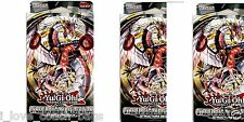 3 X  Cyber Dragon Revolution 1st New Sealed Structure Starter DECK  YuGiOh