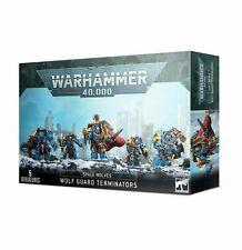 Wolf Guard Terminators Space Wolves 40K Warhammer Sealed