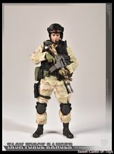 Crazy Figure 1/12 US Delta Special Force Master Sergeant Task Force Ranger LW005