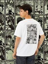 Kimetsu no yaiba UNIQLO UT Manga collabo T shirt Hashira L size White Black NEW