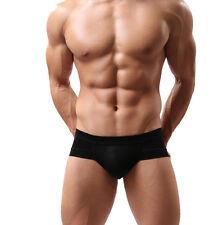 HOT Mens Soft Cotton Underwear Boxer Briefs Shorts Bulge Pouch Underpants New