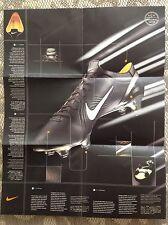 Nike Mercurial Vapor poster, promo,15x19.5 , Ronaldo, Henry, Ibrahimovic, Crespo