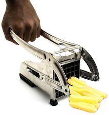 French Fry Potato Cutter/ Chipper Vegetable Slicer Chopper Stainless Steel