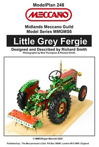 Meccano Model Plan - Little Grey Fergie Tractor