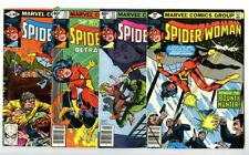 Spider-Woman (1978) #21,22,23,24 Avg NM- New Marvel Collection
