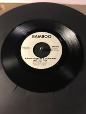 Mel & Tim Good Guys Only Win In The Movies, Rare Promotional Bamboo Records 45