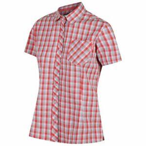 Womens Regatta Honshu II Summer Casual Cotton Short Sleeve Check Shirt RRP £25