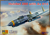 Heinkel 280 with As 014 (Argus) - RS Models Kit 1:72 92177 Nuovo