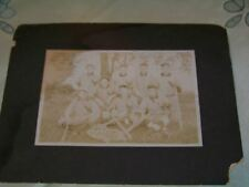 Antique Photo of Baseball Team