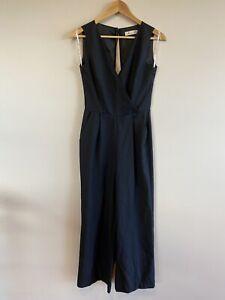 Alannah Hill | Visions Of You | Black | Wool | Jumpsuit Pantsuit - Size 6