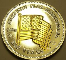Historic Mint Double Eagle American Flag Bicentennial~Free Shipping
