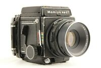 【EXC++++】 MAMIYA RB67 Pro S + SEKOR C 127mm f/3.8 + 120 Film Back from JAPAN