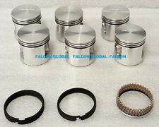 "Piston Sealed Power 1009P Chevy 235ci Blue Flame Corvette .030"" set/6 w/rings"