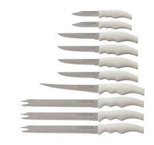 Forever Sharp 10 Piece Kitchen Knife Set Factory Seconds