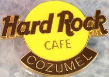 Hard Rock Cafe COZUMEL 1990s Large Classic HRC Logo PIN 3LT - HRC Catalog #2115