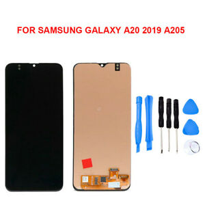 For Samsung Galaxy A20 2019 A205U Display LCD Screen Touch Screen Digitizer