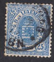 LUXEMBOURG-  N°:32   -USED  - CV  : 23 €