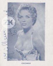 EL RIO Travesti CARROUSEL DE PARIS Coccinelle Transgenre 6 Autographes 1956