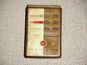 ANTIQUE TV REMOTE FOR RCA COLOR ROUNDIE ULTRASONIC CIRCA 1959