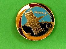 "USSR Soviet Russian Pin Badge, ""Venus-1"" Automatic Spase Station"