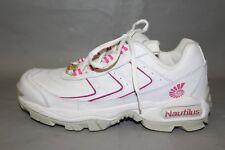 Women's Nautilus #N1372 Safety Toe Work Shoes Size 8.5 Medium, White Leather NEW