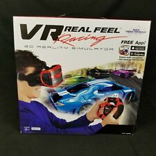VR Real Feel Virtual Reality Car Racing System Bluetooth Steering Simulator New